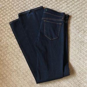 J Brand Black Skinny Boot Cut Jeans - size 25